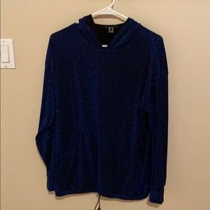 Forever 21 Sequined Hoodie